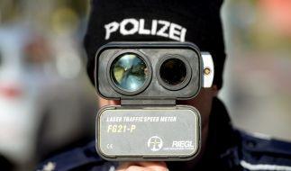 Heute findet in einigen deutschen Bundesländern ein Blitzmarathon statt. (Foto)
