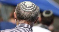 Mann mit traditioneller jüdischer Kippa. (Symbolbild) (Foto)