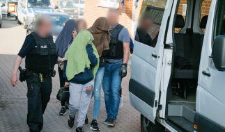 Die Bundespolizei führte eine deutschlandweite Razzia durch und zerschlug einen Menschenhändlerring. (Foto)