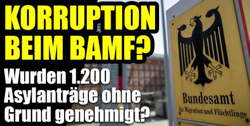 Korruptionsermittlungen beim BAMF