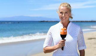 """Auch in der zweiten Ausgabe des """"ZDF-Fernsehgarten on tour"""" 2018 begrüßt Andrea Kiewel ihre Gäste auf der Vulkaninsel Teneriffa. (Foto)"""