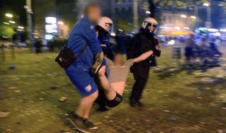 Nach dem Aufstieg des 1. FC Magdeburg kam ein in der Innenstadt zu Ausschreitungen. (Foto)