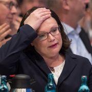 Schwaches Ergebnis! Nahles erste Frau an der SPD-Spitze (Foto)