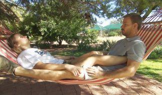 Bauer Gerald und Anna werden künftig in Namibia leben. (Foto)
