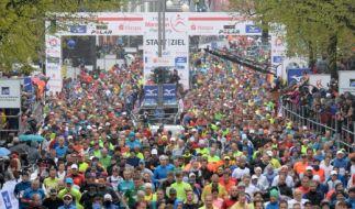 Am 29. April 2018 startet der 33. Marathon in der Hansestadt Hamburg. (Foto)