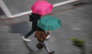 Das Wetter am 1. Mai 2018 zeigt sich dem Deutschen Wetterdienst (DWD) zufolge von seiner launischen und ungemütlichen Seite (Symbolbild). (Foto)