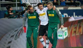 Für Lars Stindl von Borussia Mönchengladbach ist der Traum von der Teilnahme an der Fußball-WM 2018 nach einer Verletzung am linken Sprunggelenk geplatzt. (Foto)
