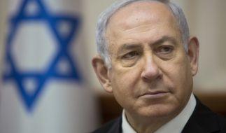 Israels Ministerpräsident Benjamin Netanjahu hat Beweise für ein Atom-Programm des Irans präsentiert. (Foto)