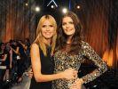 """Vanessa Fuchs (re.) wurde 2015 von Heidi Klum zu """"Germany's Next Topmodel"""" gekürt. (Foto)"""