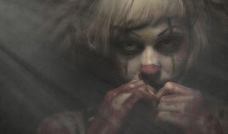 Als Clown geschminkt wollte eine Frau ihren Partner beim Sex erstechen. (Symbolfoto) (Foto)