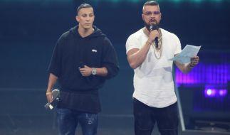 Die beiden Rapper Kollegah und Farid Bang hatten bei der Echo-Verleihung 2018 für einen Skandal gesorgt. (Foto)