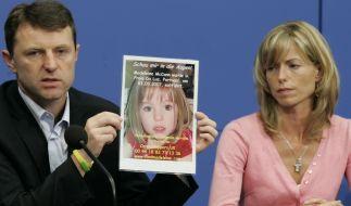 Kate und Gerry McCann suchen ach elf Jahre nach dem Verschwinden ihrer Tochter Maddie McCann. (Foto)