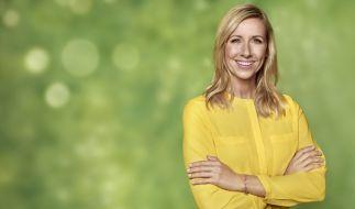 "Andrea Kiewel präsentiert den ""ZDF-Fernsehgarten"". (Foto)"