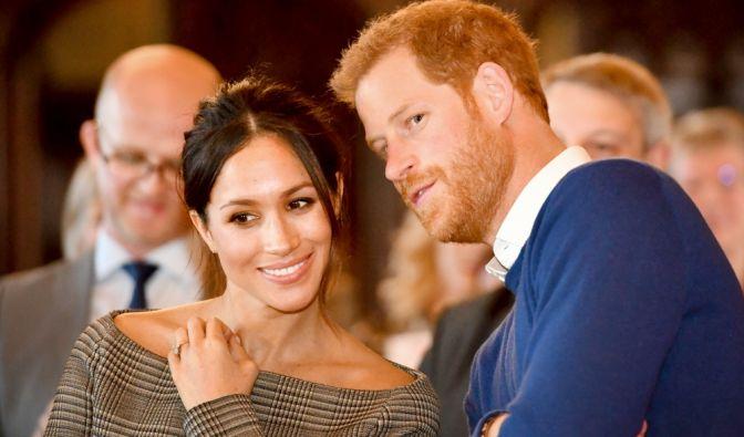 Mitten in den Hochzeitsvorbereitungen: Prinz Harry und Meghan Markle erwarten 800 Gäste zur Trauung und 2.640 Bürger auf dem Schlossgelände in Windsor. (Foto)
