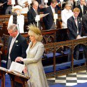Auch Harrys Vater Prinz Charles heiratete seine heutige Frau Camilla in Windsor (2005).