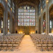 In derspätgotischen St.-Georgs-Kapelle aus dem 15. Jahrhundert werden sich Prinz Harry und Meghan Markle das Ja-Wort geben. Seit 1863 finden hier royale Hochzeiten statt.
