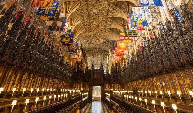 Prinz Harry und Meghan Markle werden sich in dieser spektakulären Kapelle zu Mann und Frau erklären lassen. Doch die beiden sind nicht das letzte royale Paar, das hier heiraten wird.