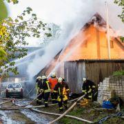 Mädchen (5) stirbt bei Wohnhausbrand (Foto)