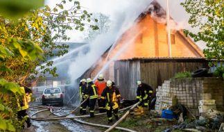 Bei einem Hausbrand in Böel (Schleswig-Holstein) ist ein fünf Jahre altes Mädchen ums Leben gekommen. (Foto)