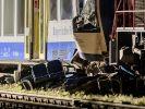 Bei Zugunfällen in Aichach und Seeshaupt in Bayern kamen am Montag insgesamt vier Menschen ums Leben, mehr als 70 wurden verletzt. (Foto)