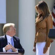 Trump und Melania getrennt! Ehekrise spitzt sich zu (Foto)