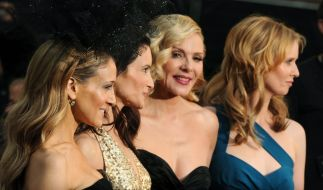 "Cynthia Nixon, Sarah Jessica Parker, Kim Cattrall und Kristin Davis spielten in ""Sex and the City"". (Foto)"
