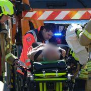 Straßenbahnen prallen aufeinander - 15 Verletzte (Foto)
