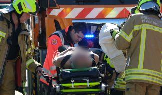 Beim Zusammenstoß zweier Stadtbahnen in Hannover sind nach Polizeiangaben mehrere Menschen verletzt worden. (Foto)