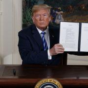 Trump beendet den Atom-Deal - EU will weitermachen (Foto)