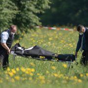 Getötete Frau im Park - Polizei nimmt Verdächtigen fest (Foto)