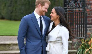 Meghan und Harry strahlen schon jetzt um die Wette. Nach der Hochzeit werden sich zumindest ihre Bezeichnungen ändern. (Foto)
