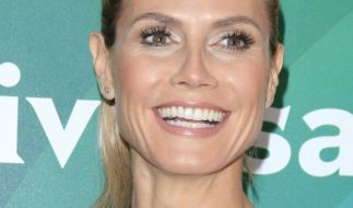 Heidi Klum strahlt über beide Ohren. (Foto)