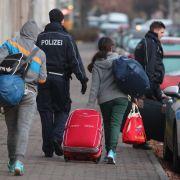 Nur 1,5 Prozent der Flüchtlinge müssen abgeschoben werden (Foto)