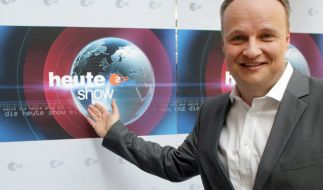 """Auch an diesem Freitagpräsentiert Oliver Welke eine neue Folge der """"heute-show"""". (Foto)"""