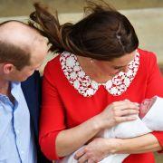 Prinz William lässt seine Kate mit Prinz Louis alleine (Foto)
