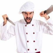 Koch und Kellner duellieren sich wegen zurückgegangenem Essen (Foto)