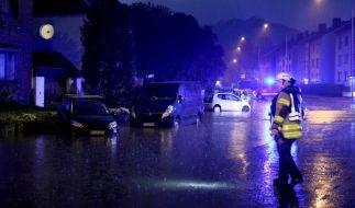 Auch in der neuen Woche drohenRegen, Gewitter und Unwetter. (Foto)