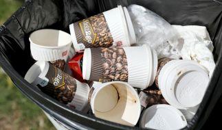 Braucht Deutschland ein Pfandsystem auf Kaffeebecher? (Foto)