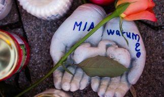 Die 15-jährige Mia war am 27. Dezember in einem Drogeriemarkt in Kandel erstochen worden. (Foto)