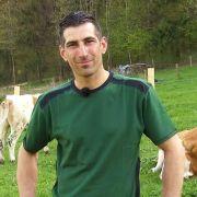 Bio-Bauer Marco (35) wollte schon immer seinen eigenen Hof besitzen.