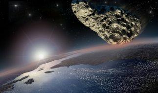 Ein riesiger Asteroid wird am Dienstag an der Erde vorbeifliegen. (Foto)