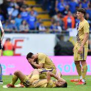 Erzgebirge Aue hat am Samstag (13.05.2018) gegen SV Darmstadt 98 0:1 verloren. (Foto)