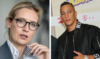 Rapper Farid Bang attackiert AfD-Chefin Alice Weidel. (Foto)