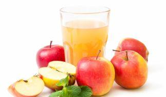 Diesen Apfelsaft sollten Sie besser nicht trinken. (Foto)