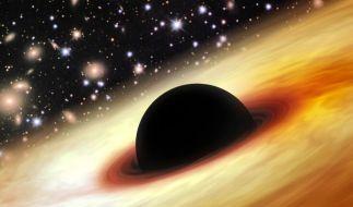 Forscher haben das bislang am schnellsten wachsende Schwarze Loch entdeckt. (Foto)