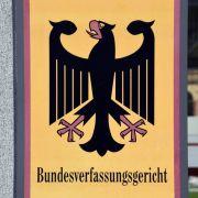 Das Bundesverfassungsgericht in Karlsruhe behandelt eine Klage zum Rundfunkbeitrag.