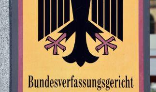 Das Bundesverfassungsgericht in Karlsruhe behandelt eine Klage zum Rundfunkbeitrag. (Foto)