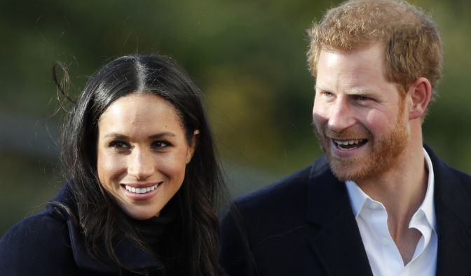 Harry und Meghan heiraten am 19. Mai 2018.