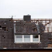 Viele Hausdächer wurden durch die Windhose abgedeckt.
