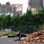 Der Tornado war einer der schlimmsten der vergangenen Jahren in Deutschland.